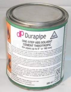 Durapipe Cement -  Durapipe Abs Solvent Cement 461395 500ml