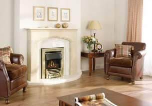 Baxi Gas Fires and Wall Heaters -  Valor Decadent Class 1 Coal Gas Brass