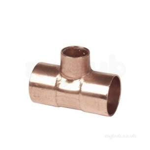 Ibp General Range Conex End Feed Fitting -  Ibp 611 28mm X 28mm X 15mm Reducing Tee