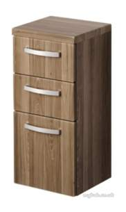 Ideal Standard Sottini Sundries -  Ideal Standard Sottini Fn Base 300 Gry/wht Drawer Unit