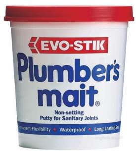 Adhesives and Sealants -  Bostik Evode 750gr Plumbers Mait