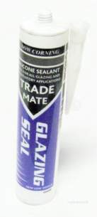Adhesives and Sealants -  Dow Trademate 310ml Glazing Seal Cl