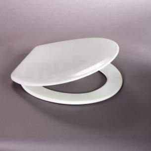 Carrara and Matta Toilet Seats -  Real Seat And Cover Alto Wrap Ss Hnge Wh