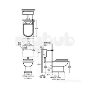 Ideal Standard Sottini Sundries -  Ideal Standard Cassara/cresta 28mm Cistern Lever Cp