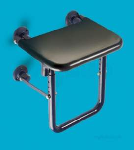 Saracen Disabled Products -  Saracen Shower Seat Cw Hinged Leg Blue
