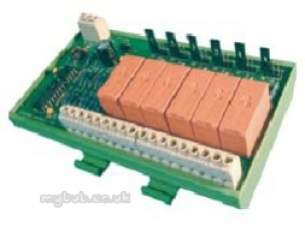 Electro Controls -  Ecl E6 Rm 6 Stg Relay 24vac/dc 0-10vdc