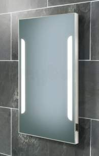 Hib Lighting Cabinets and Mirrors -  Hib Zenith Mirror 80 Cm X 45 Cm X 5.50 Cm