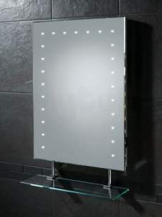 Hib Lighting Cabinets and Mirrors -  Hib 73106000 Keo Mirror 70 X 50cm