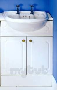 Sylvan Bathroom Units -  Cb Sylvan 640 S/c Unit Trad White