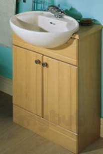 Sylvan Bathroom Units -  Cb Sylvan 660 Blank Profiled Top Beech