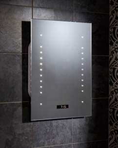 Hib Lighting Cabinets and Mirrors -  Hib Tempo Radiostar Mirror 70 X 50cm