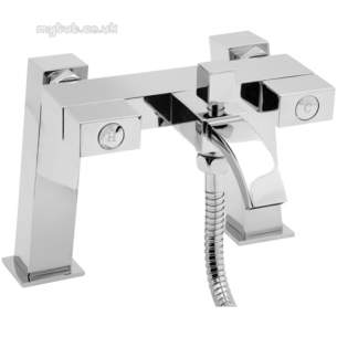 Deva Brassware -  Deva Edge106 Bath Shower Mixer Cp