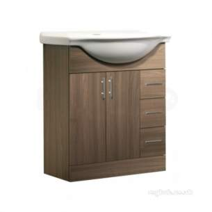 Roper Rhodes Furniture -  Ella Elba7aw 700 Base Unit-walnut