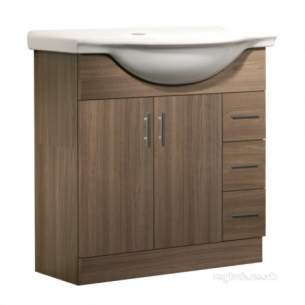 Roper Rhodes Furniture -  Ella Elb8aw 800 Base Unit-walnut