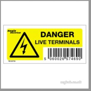 Regin Products -  Regin Regep23 Live Terminals Label 8