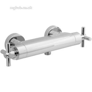 Deva Showering -  Deva Epr1500 Cross Therm Bar Shower Cp