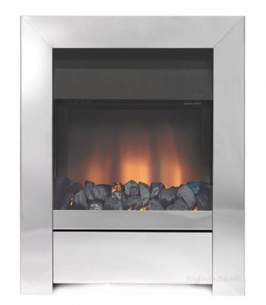 Be Modern Fires Gas and Electric -  Bm Sensation Gas Fire 120mm-chrome