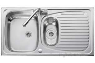 Rangemaster Sinks -  Euroline 1.5b Ss Pol Chv Drnr And Am1 T/c