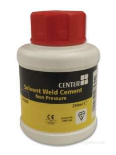 Center Solv Cement Cleaner Lube -  Center Tin Solvent Cement 250 Ml