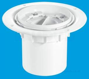 Mcalpine Waste traps overflow -  Mcalpine Tsg3t-b Trapped Shower Gully Seal 75mm