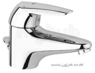 Grohe Tec Brassware -  Grohe Eurodisc 33297 Basin Mixer M/b Puw L/p Cp