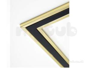 Focal Point Fires Gas Spares -  Focal Fr005315/0 Frm40 Frame Brass