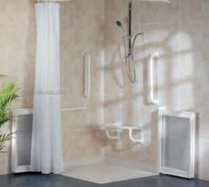Neaco Shower Trays -  Flowdek Complete Pack 1850mm X 800mm Lh