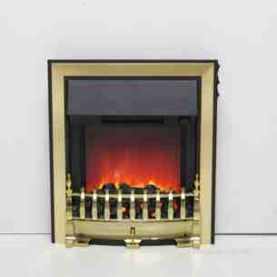 Be Modern Fires Gas and Electric -  Be Modern Bm Fazer Electric Fire Brass