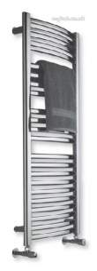 Myson Multirail and Rotondo Towel Warmers -  Myson Cmr 8 Aloha Towel Warmer White