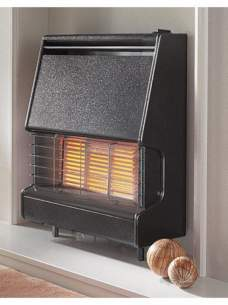 Flavel Gas Fires -  Flavel Firenza Tc Black Ods Fire Ng