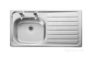 Rangemaster Sinks -  Leisure Lexin Le95r/ptc Right Hand Tap Pack