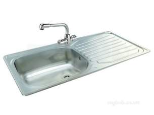 Carron Trade Sinks -  Precision Plus 100 With Aztec Tap
