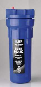 Liff Water Filters -  Liff Np1 Standard Filter Housing Only