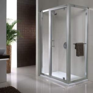 Twyford Geo6 and Hydr8 Enclosures -  Geo6 180 Pivot Door 900mm G65600cp