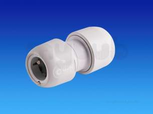 Hep2O Pipe and Fittings -  Hep2o Hd1 Straight Connector 28 Hd1/28w