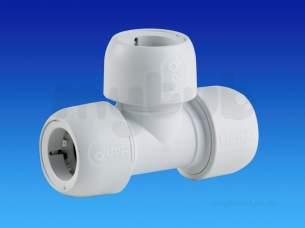 Hep2O Pipe and Fittings -  Hep2o Hd10 Equal Tee 28 Hd10/28w