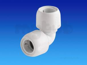 Hep2O Underfloor Heating Pipe and Fittings -  Hep2o Hd5 90d Elbow 28 Hd5/28w