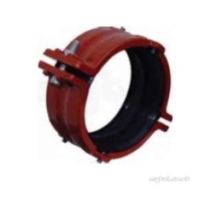 Hargreaves Halifax Cast Soil Range -  Hargreaves Ductile Iron Coupling 100mm