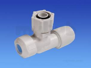 Hep2O Underfloor Heating Pipe and Fittings -  Hep2o Hx19 Angled Service Valve 15x1/2