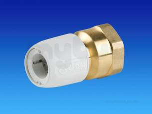Hep2O Underfloor Heating Pipe and Fittings -  Hep2o Hx24 Fi Str Connector 15x3/4