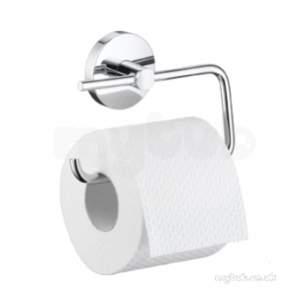 Hansgrohe Bathroom Accessories -  Hansgrohe Logis Paper Roll Holder W/o Lid Chr