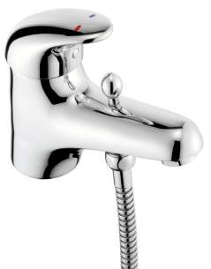 Pegler Luxury Bathroom Brassware -  Haze 464007 Single Lever Mono Bsm