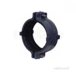 Hargreaves Halifax Cast Soil Range -  Hd Ductile Iron Coupling 150mm Hd6012