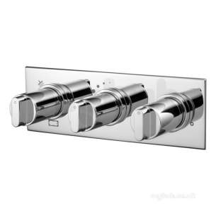 Ideal Standard Showers -  Ideal Standard Moments Sh/thrm B-in 3-cntrl Chrm 2/out