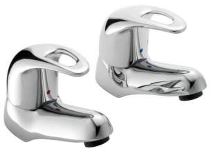 Pegler Luxury Bathroom Brassware -  Pegler Yorkshire Izzi 4g4097 Dc Deck Mounted Bsm