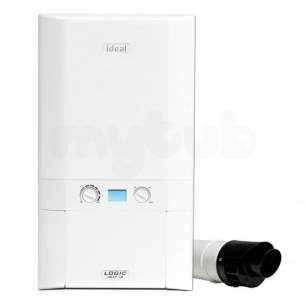 Domestic Boiler Pack Promotions -  Ideal Logic Plus Ho 18 With Free Flue