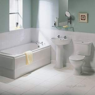 Ideal Standard Acrylic Baths -  Ideal Standard Baronet E4230 700mm End Panel White