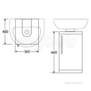 Ideal Standard Packs -  Ideal Standard Create Basin Plus Wc With Oak Furniture