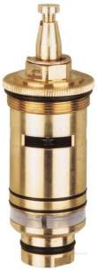 Grohe Tec Brassware -  Grohe Grohmix 47025 Thermo Cartridge Chrome Plated 0.75 Inch