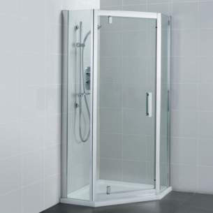 Ideal Standard Synergy Shower Enclosures -  Ideal Standard Synergy L6214 800mm Pentagon